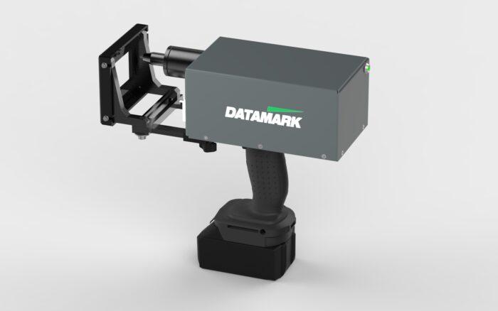 Máquina para marcar piezas de metal portátil
