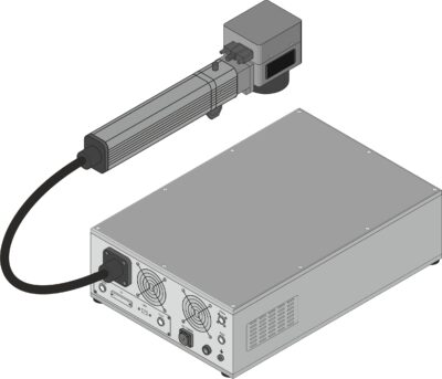 Máquina de marcado láser Datamark FL-20