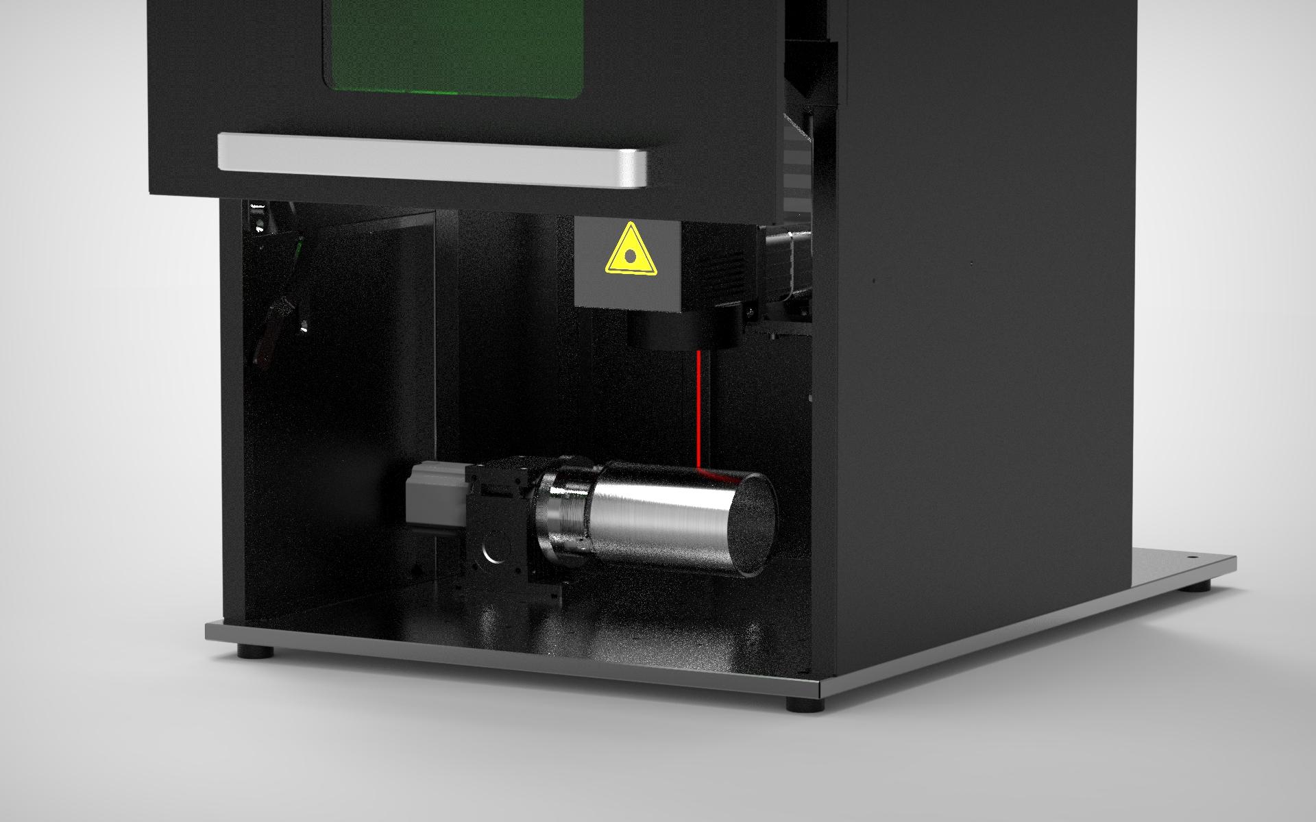 Grabado de piezas cilíndricas por laser