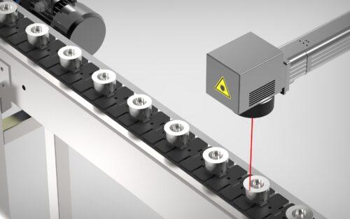 Marcaje automático por láser