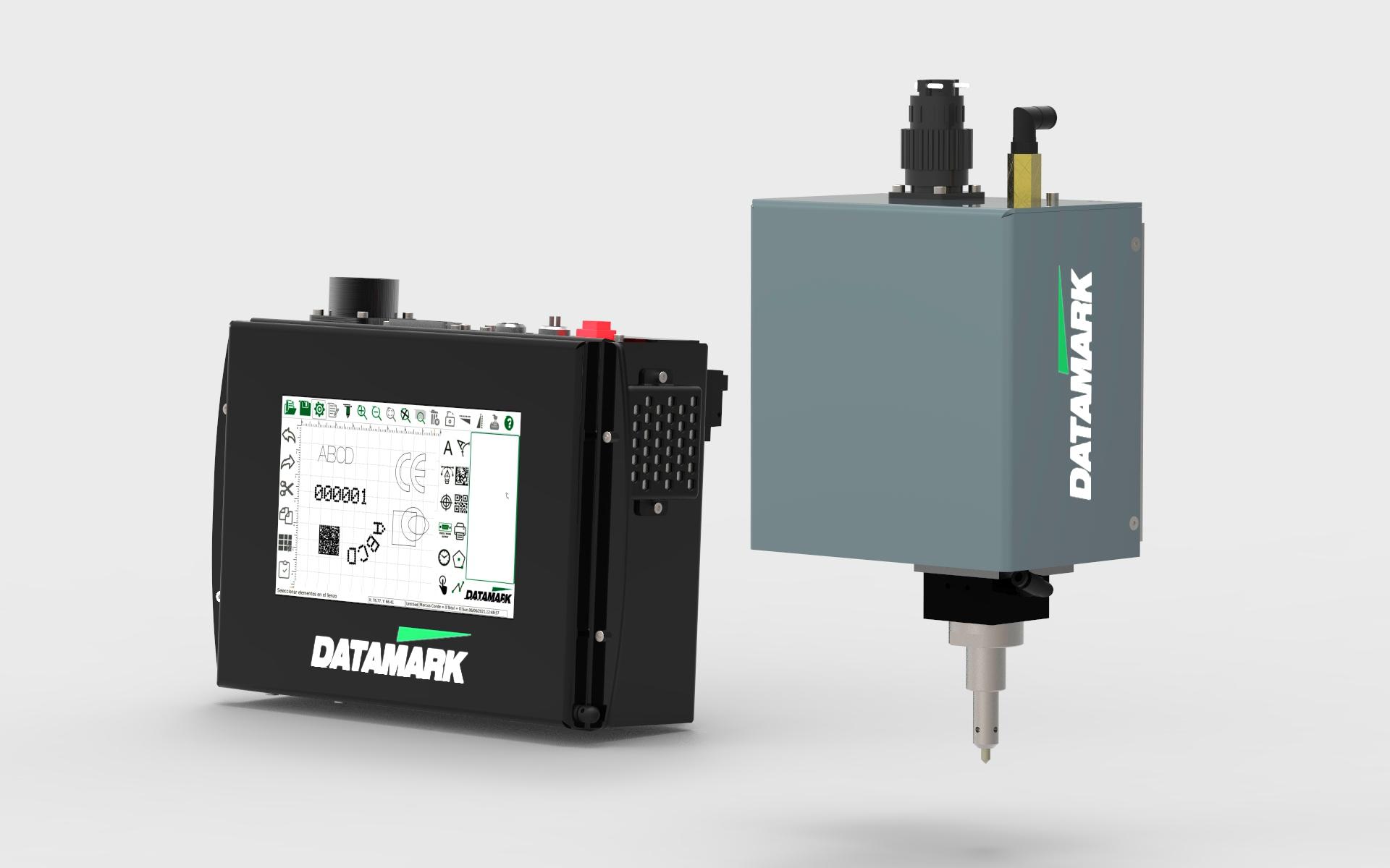 Marcadora de piuezas por micropuntos Datamark MP-80
