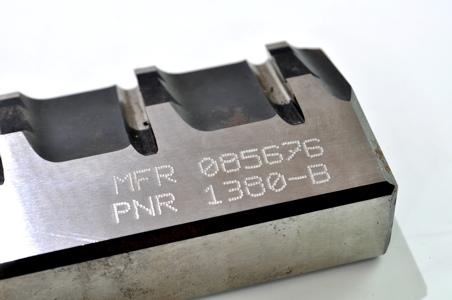 Marcaje de piezas metálicas