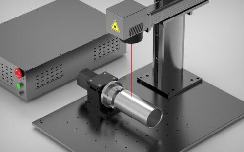 Marcado de piezas por laser