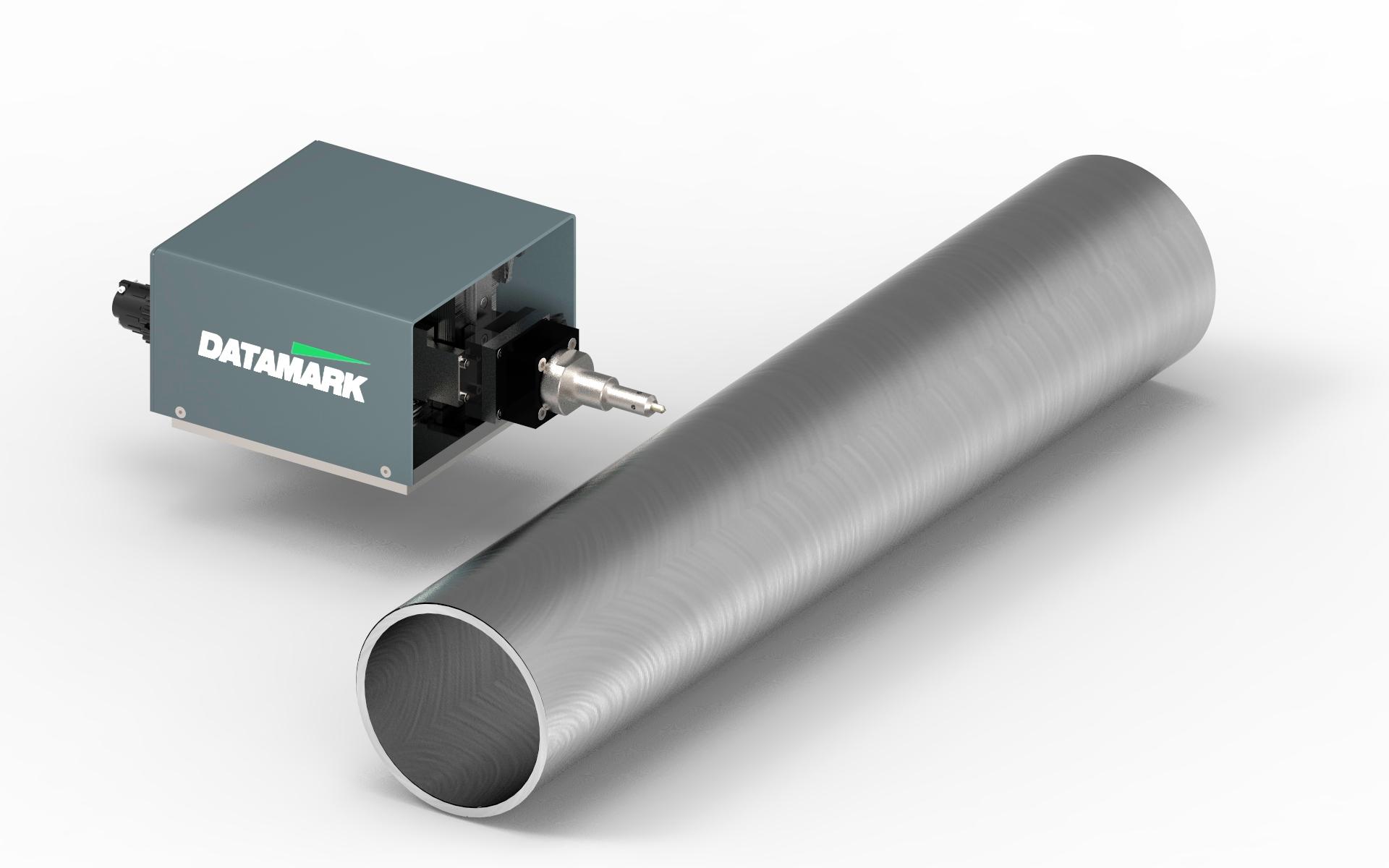 Sistema para marcado de tubos de acero
