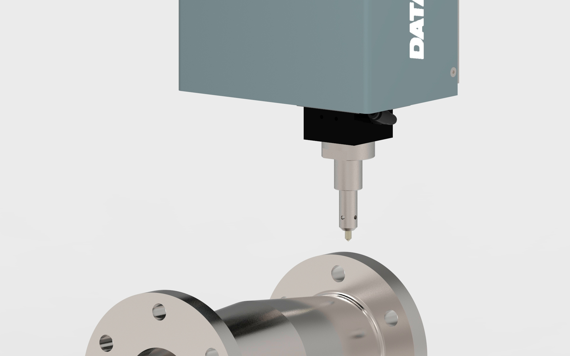 Marcaje de bridas y conectores de acero por micropunzonado