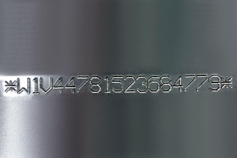Marcaje de números VIN en chasis