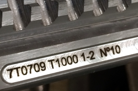 Marcaje de herramientas de corte por laser