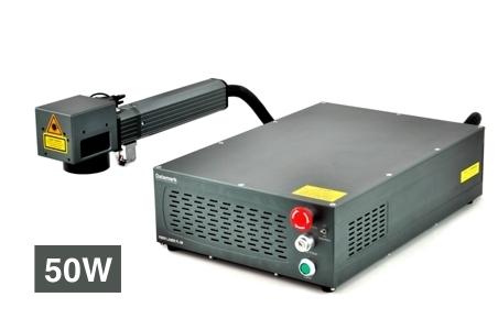 Marcadora de piezas por laser Datamark FL-50